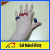 custom & fashion silicone finger band/silicone finger ring