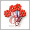 soft pvc bookmark clip