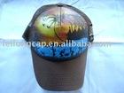 printing mesh baseball cap