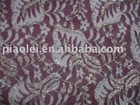 Jacquard Lace Fabric With Metallic