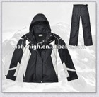 ladies 100% nylon winter ski suits