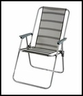 Outdoor Foldable Beach Chair with Stainless Steel tube
