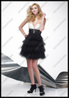Generous Sweetheart Tiered Mini Classy Cocktail Dress PS-093