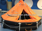 KHA type throw over board inflatable liferafts