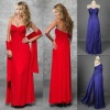 NEW!! Straight Full-Length Strapless Chiffon Prom Dresses 2012