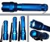 Aluminium flashlight,with metal switch botton,FS-L1164/1167/1165