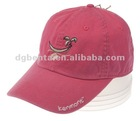 High quality unisex embroidered brand sports camp cap
