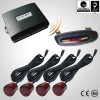 Peculiar cm accuracy car led wireless parking sensor system