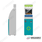 19inch touch screen kiosk with swipe card reader, cash acceptor,ID card scanner,keyboard,etc.