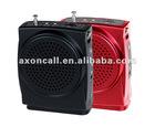 2012 Belt Portable Mini Audio Amplifier Speaker with Reverb/Echo V-3