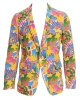 Corduroy star print jacket