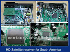 For Brazil, South America, HD satellite receiver PVR