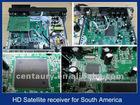 For Brazil, South America, HD satellite receiver PVR