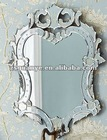 On sale etching venetian wall mirror elegant mdf backboard, decorative mirror, venetian mirror--mabel