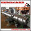 wear-proof bimetallic injection screw and barrel