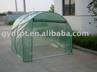 Tunnel greenhouse with PE gridding