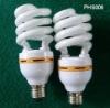 Half-spiral yellow color skirt energy-saving bulbs