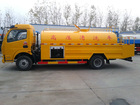 DF 185hps jetting washing truck