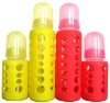 silicon baby bottle cover