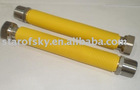 S/S yellow PVC covered flexible tube hose