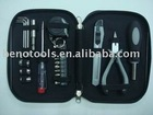 OEM manufacturer hand tool kit 23PCS TOOL SET,promotion gift tools plier sockets tester tool TIN box