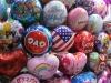 promotion metallic ball /metal ball for children