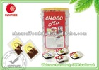 Quadrate milk golden cup chocolate