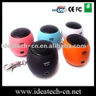 portable mini speaker for iphone/ipod/mp3/mp4