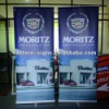 Luxury Single Feet Roll Up Banner Stand