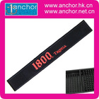 Soft and Washable PVC Bar Mat, Customized Logos and Designs are Welcome