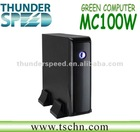 Mini PC Station Thin Client PC AMD E350 1.6GHz Dual Core CPU 2GB RAM 8GB SSD HDMI DVI Wifi Windows XP/Windows 7/ Linux