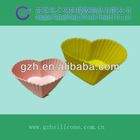 Small heart shape silicone 3d cake decorating molds