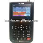 Satlink WS6912 Edit TP Frequency LNB switch Symbol Rate etc antenna satellite meters