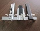 aluminium ceramic tile trim/ flooring profile/ stair nose