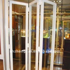white powder coating aluminium doors