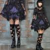 Cake nets gauze skirt Wavy edge princess short skirt 61090 gothic lolita skirt