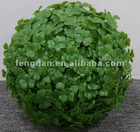 FLC0082 30cm Decorative Artificial Plastic clover Ball