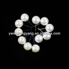 round loose needle plastic pearl beads for earrings