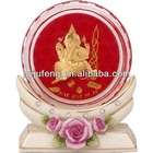 Crystal paper weight of radha