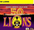 50 lions gambling pcb boards