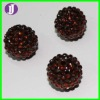 hot sell 12mm wives shamballa resin beads,used for shamball bracelets and earring
