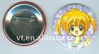 Fancy metal printed emblem badge wholesale