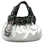2013 latest design high quality ladies fashion handbags sexy black roses hobo handbag