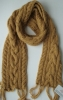 100% mohair fashion hand knitting scarf