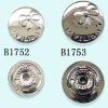 wholesale aluminum cover buttons (B1752&B1753)
