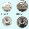 wholesale aluminum cover buttons (B1752&B1753)