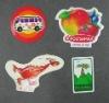 art paper fridge magnet sticker