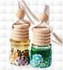 wholesale and retail stock hanging car car perfume glass bottle