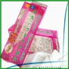 personal care clear plastic pvc box