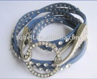 Fashion rhinestone skinny belt for lady